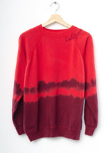 Vintage California Tie Dyed Sweatshirt - Red