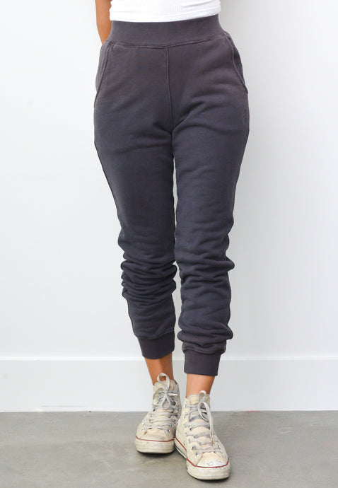 PALOMA SWEAT PANTS IN SMOKEY CHARCOAL