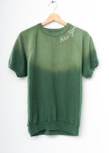 New York Shorty Sweatshirt - Vintage Green (Size S/M)
