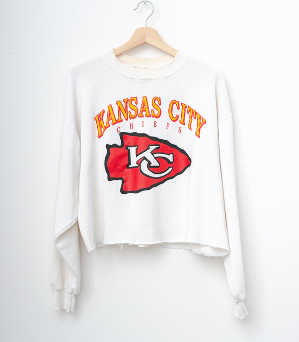 Kansas City Chief Cropped Sweatshirt