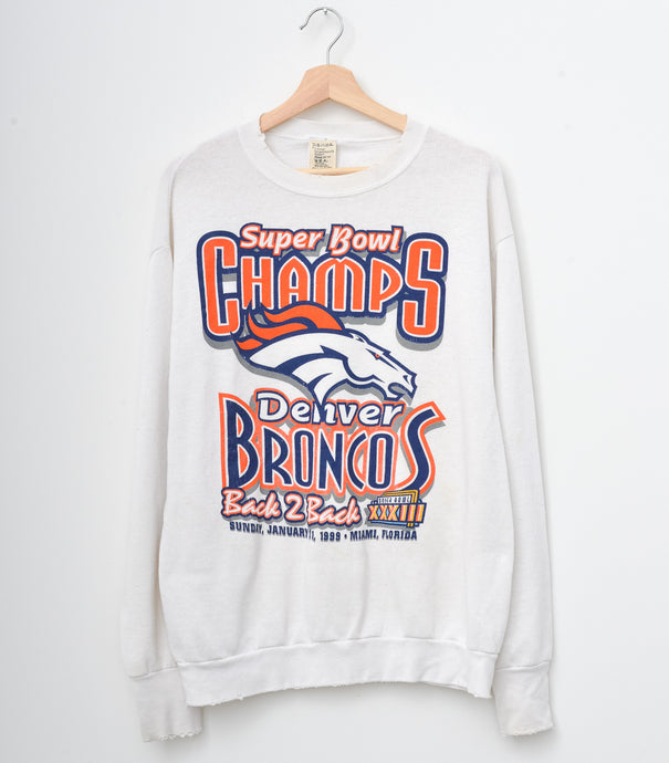 Denver Broncos Sweatshirt - Off White