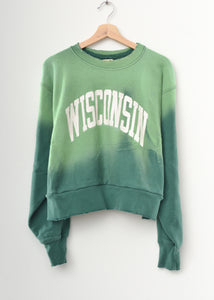 Wisconsin Crop Sweatshirt