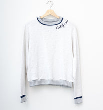 California Sweatshirt- Melange Gray