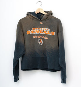 Cincinnati Bengals Cropped Hoodie - Quiet Shade