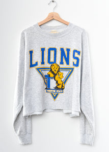 Lions Crop Sweatshirt