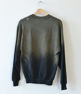 California Sweatshirt- Smokey Black
