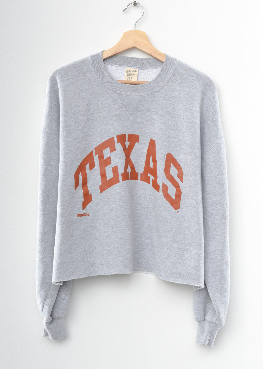 Texas Crop Sweatshirt