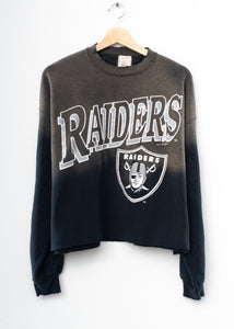 Raiders Crop Sweatshirt