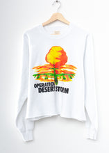 Operation Desert Storm Crop Sweatshirt