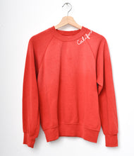 California Sweatshirt- Flame Scarlet