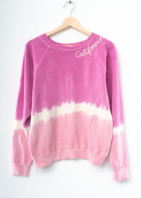 Desert Breeze California Sweatshirt - Rose