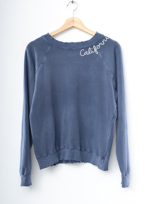 Mojave California Sweatshirt - Blue