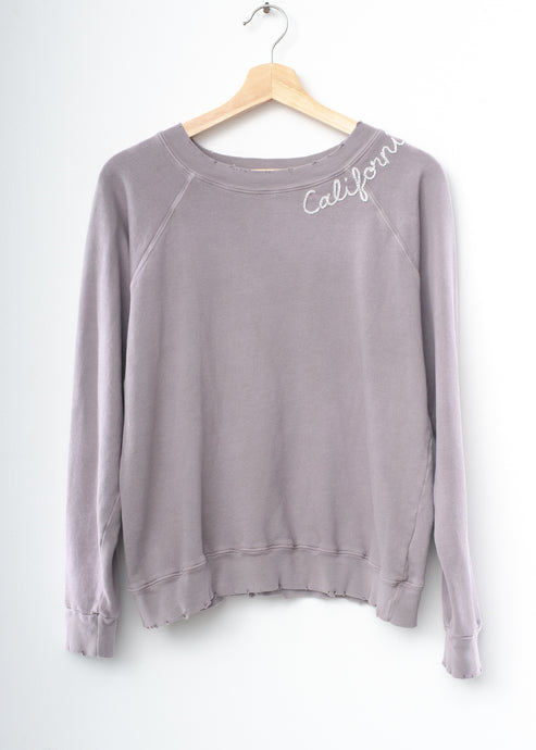 Mojave California Sweatshirt - Grey