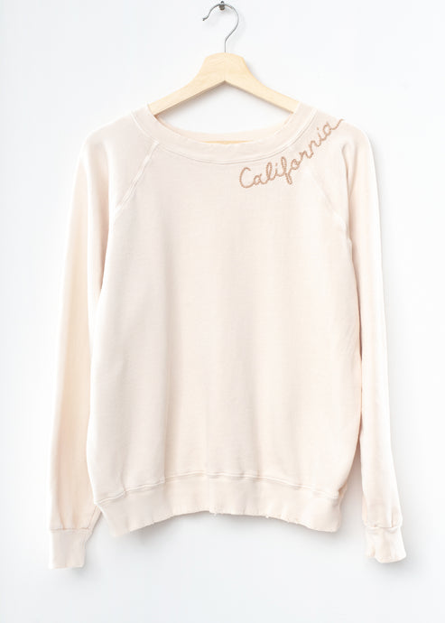 Mojave California Sweatshirt - Cream
