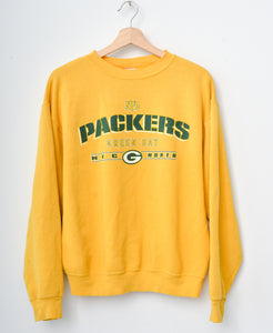Packers Sweatshirt -Yellow