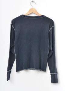 California Thermal Tee L/S-Washed Black