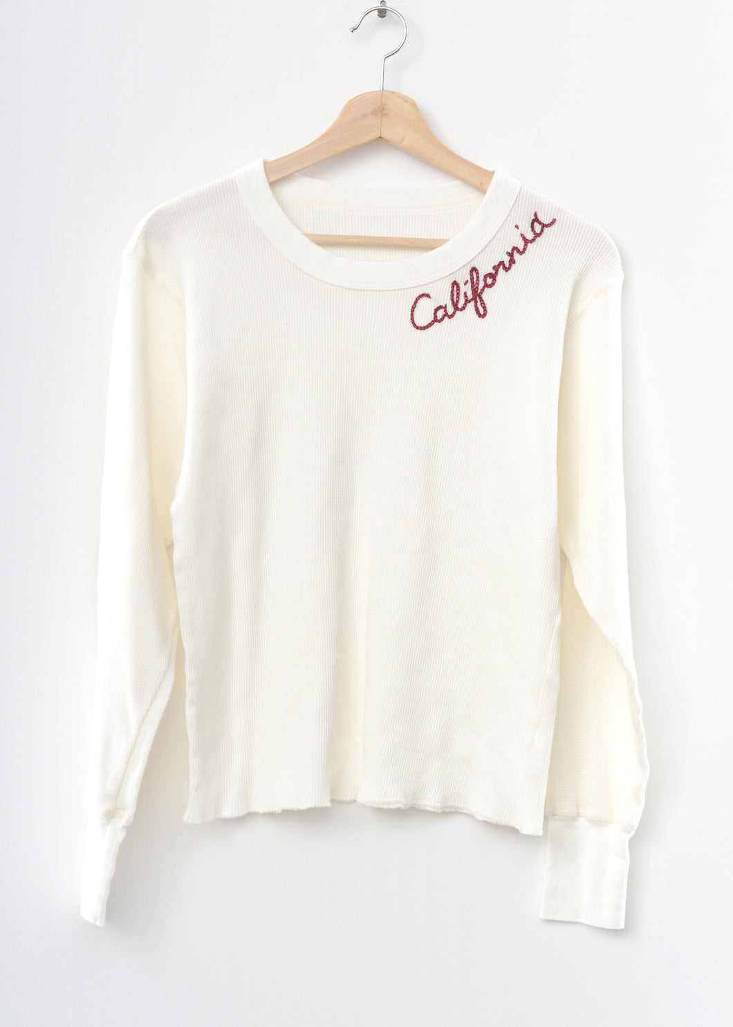 California Thermal Tee L/S-Off White