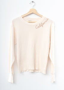 California Thermal Tee L/S-Cream