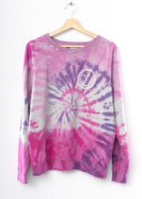 Prismatic Smiley Face Sweatshirt - Pink