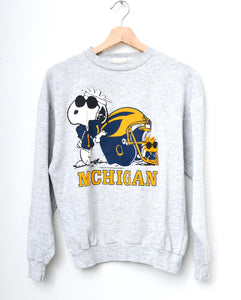Michigan Sweatshirt -H.Grey