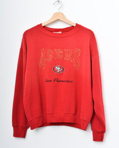 49ers Sweatshirt -Red
