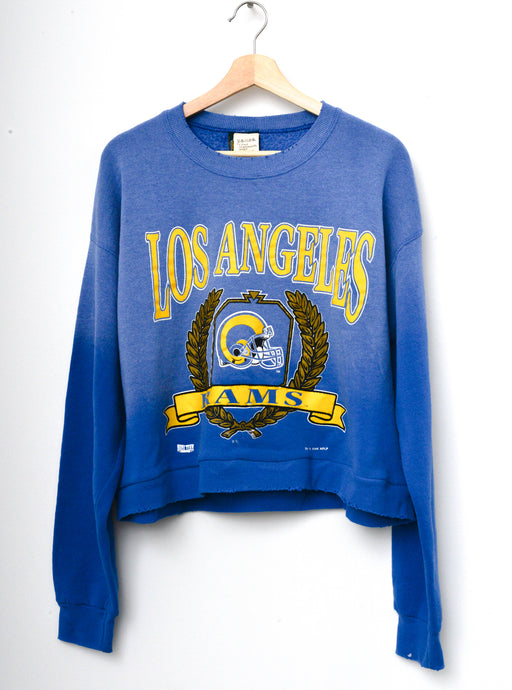 Los Angeles Rams Cropped Sweatshirt - Blue