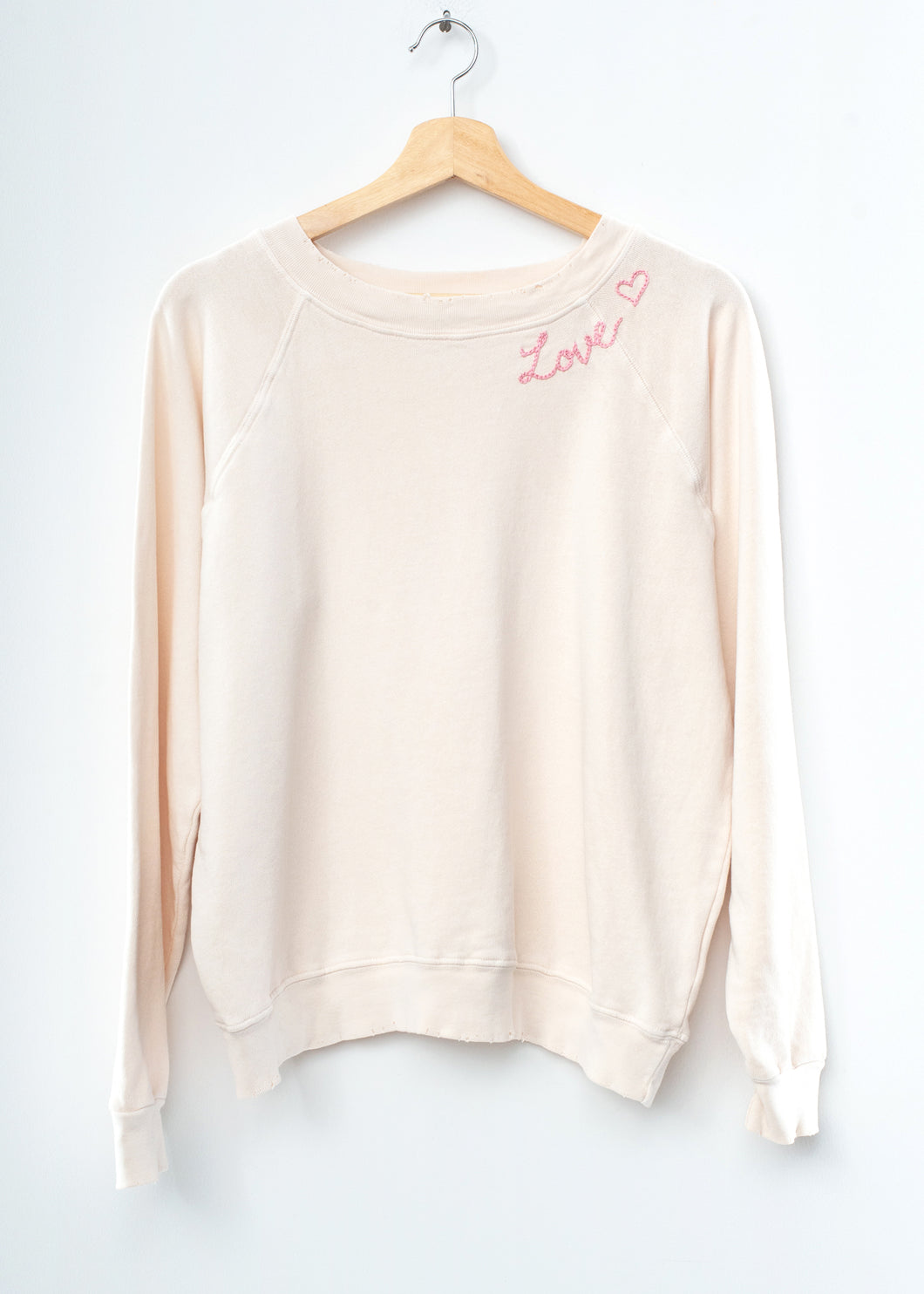Mojave Love ❤️ Sweatshirt - Cream