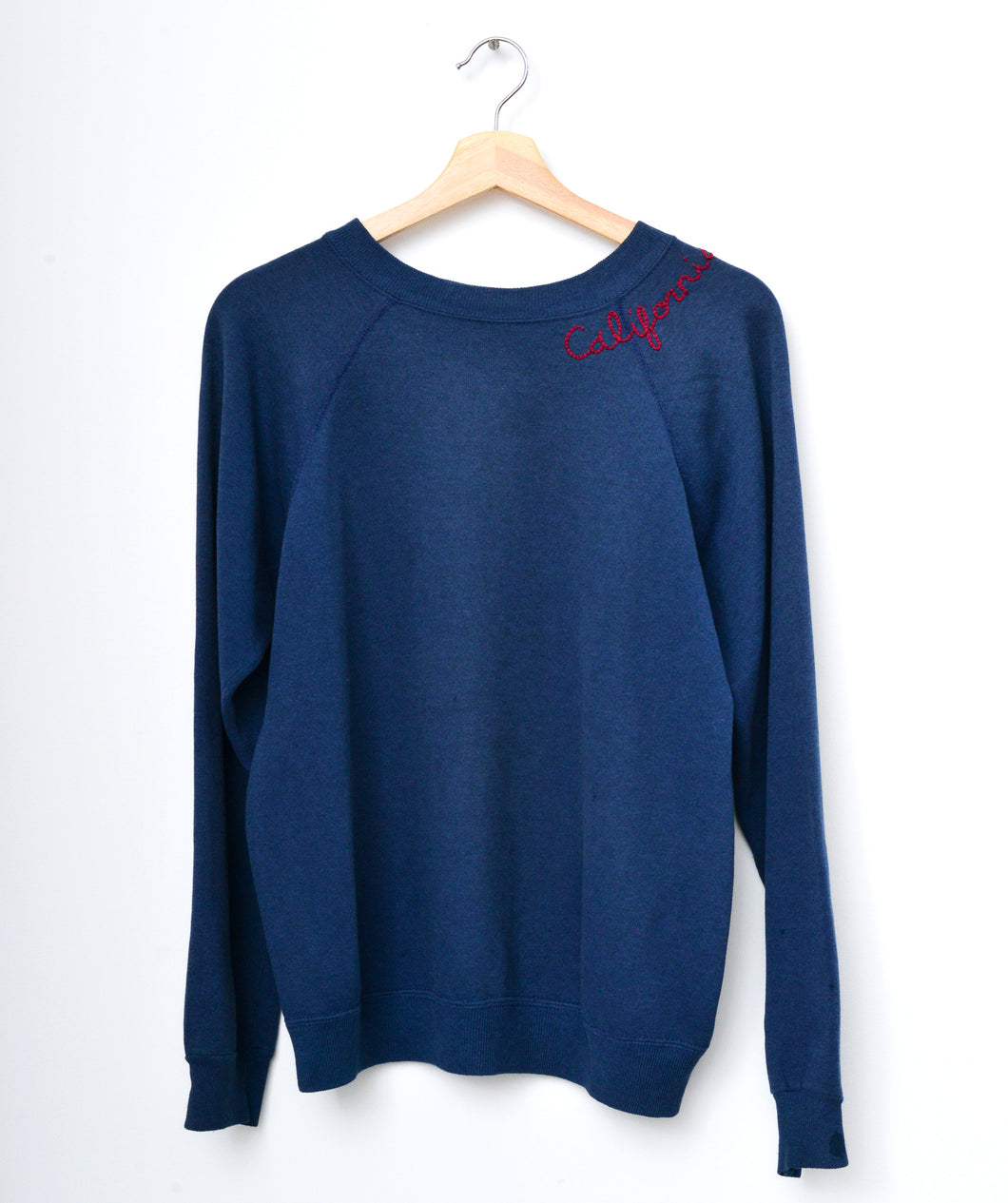 California Sweatshirt-Navy