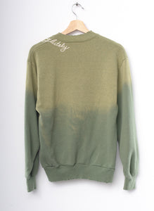 "#25 Vintage ""absofuckinglutely""  Sweatshirt - Sweet Pea-Small"
