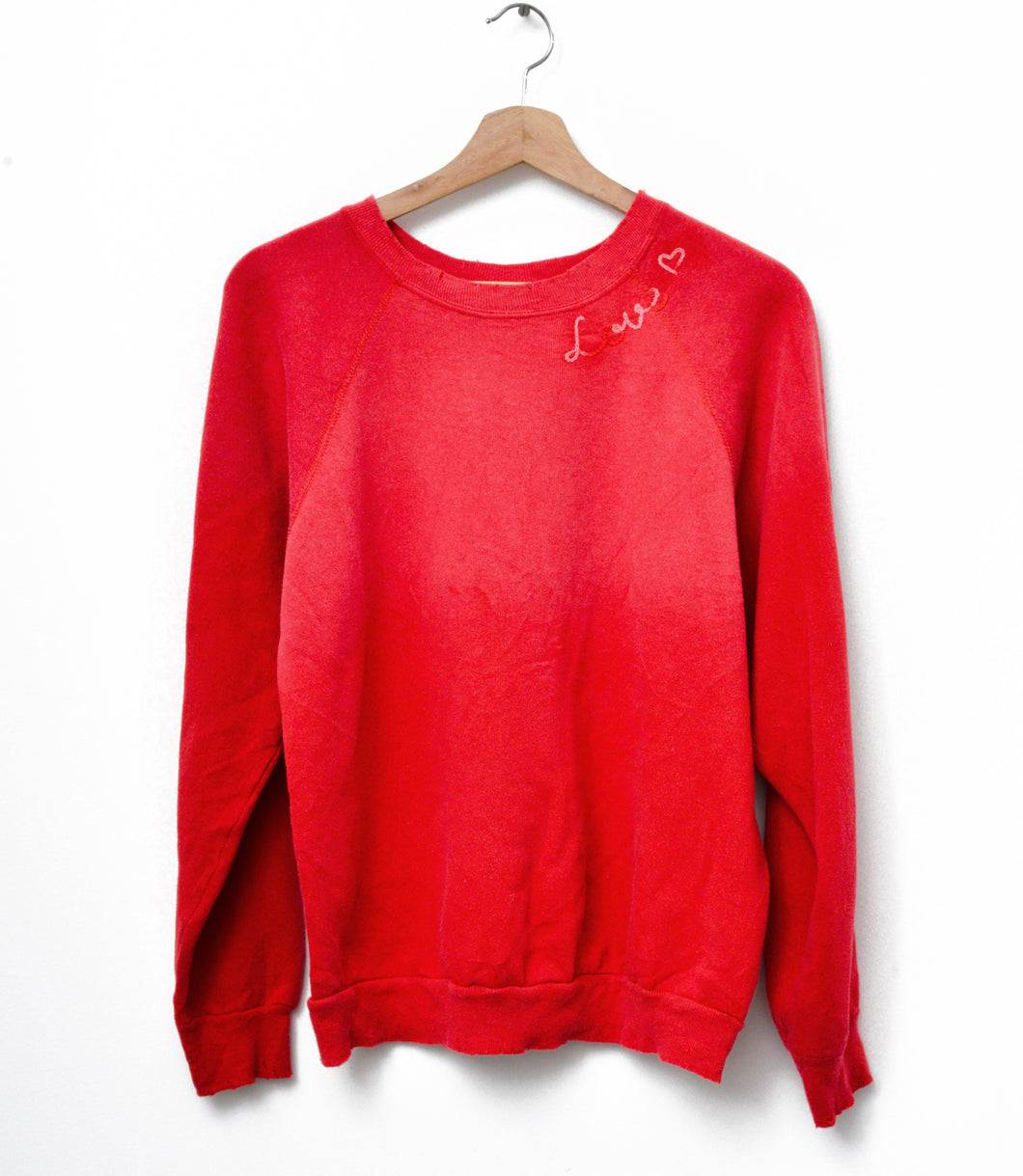 Love ❤️Sweatshirt - Red