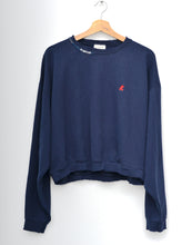 Vintage Mickey  Embroidery Sweatshirt - Navy