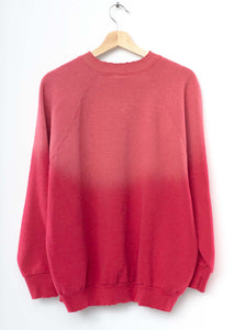 Vintage Love ❤️ Sweatshirt -Red-M/L-A#1
