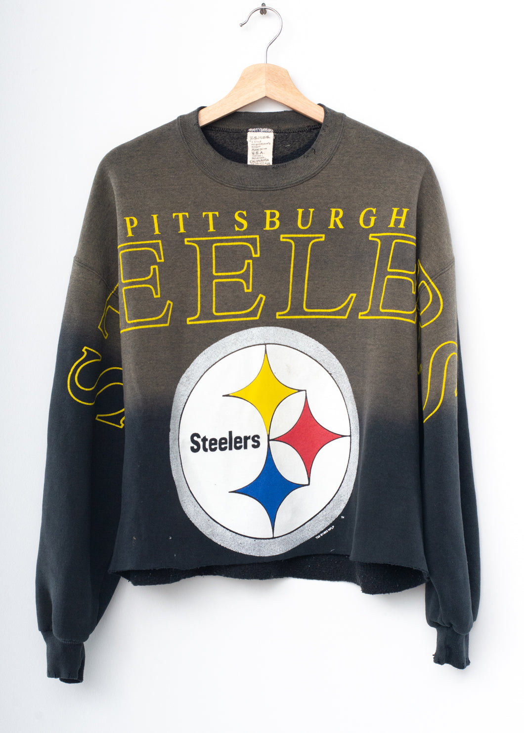 Steelers Crop Sweatshirt