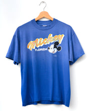 Vintage Mickey Tee - Deep Blue