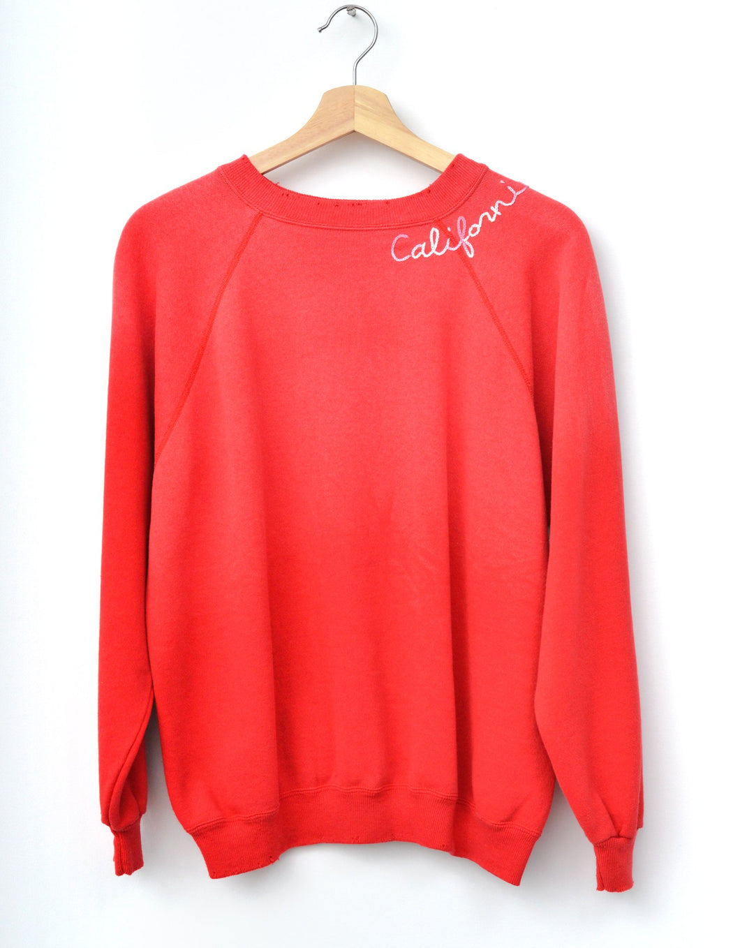 California Rainbow Sweatshirt - Red