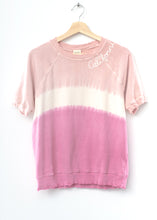 White Sand Shorty California Sweatshirt- Rose