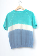 White Sand Shorty California Sweatshirt- Sky