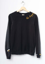 Bee Happy Sweatshirt - Black