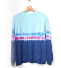 "Festival Tie Dyed ""California"" Sweatshirt- Blue"