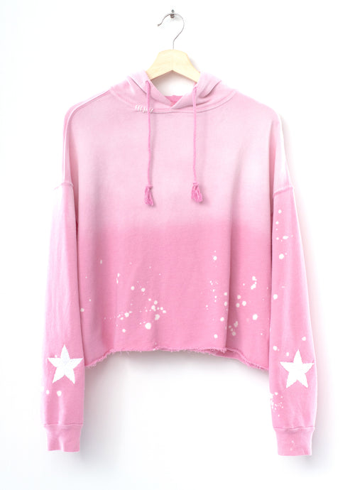 Follow your Star Hoodie - Pink