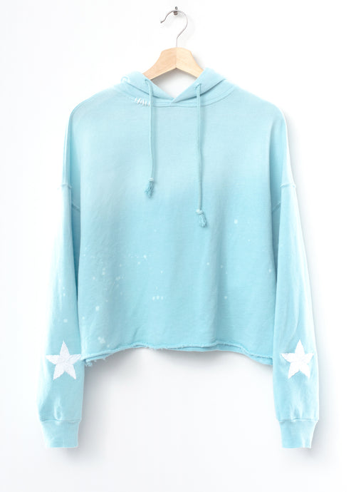 Follow your Star Hoodie - Blue