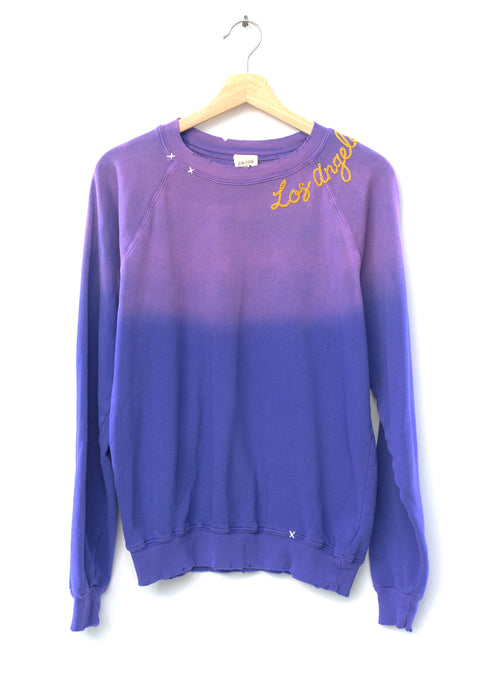 Los Angeles Sweatshirt- Purple
