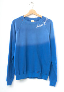 New York Sweatshirt- Blue