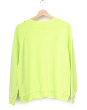Neon California Sweatshirt- Green