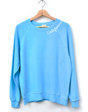 Neon California Sweatshirt- Blue
