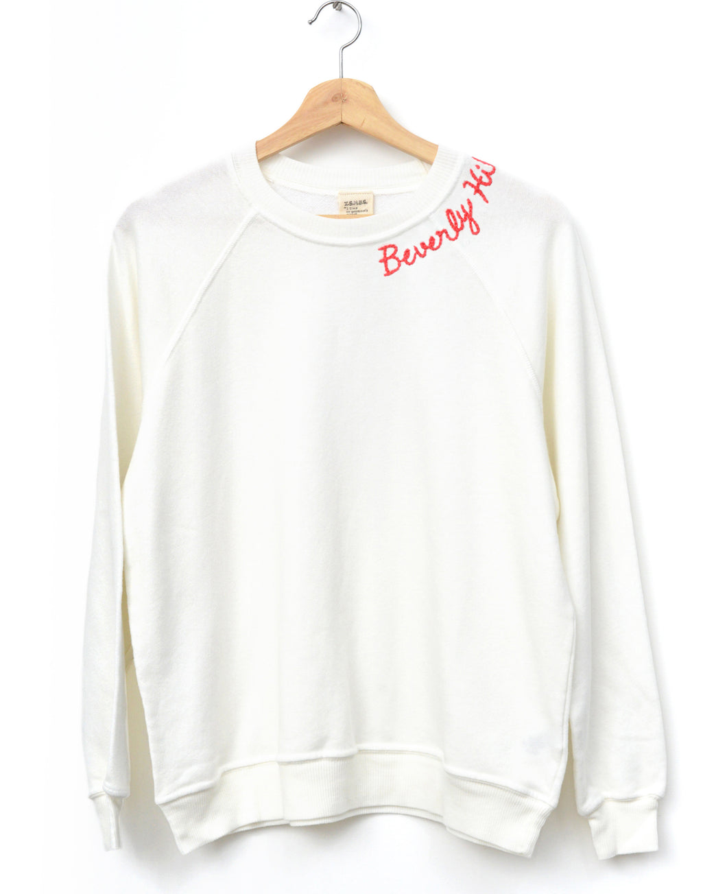 Neon Beverly Hills Sweatshirt- Off White