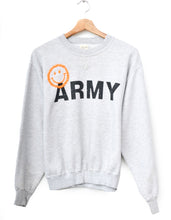 Shotgun Distress Happy Army Sweatshirt