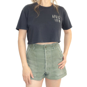 BOMBS IN THE HEART CROP TEE