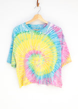 Peace and Love Cropped Tee