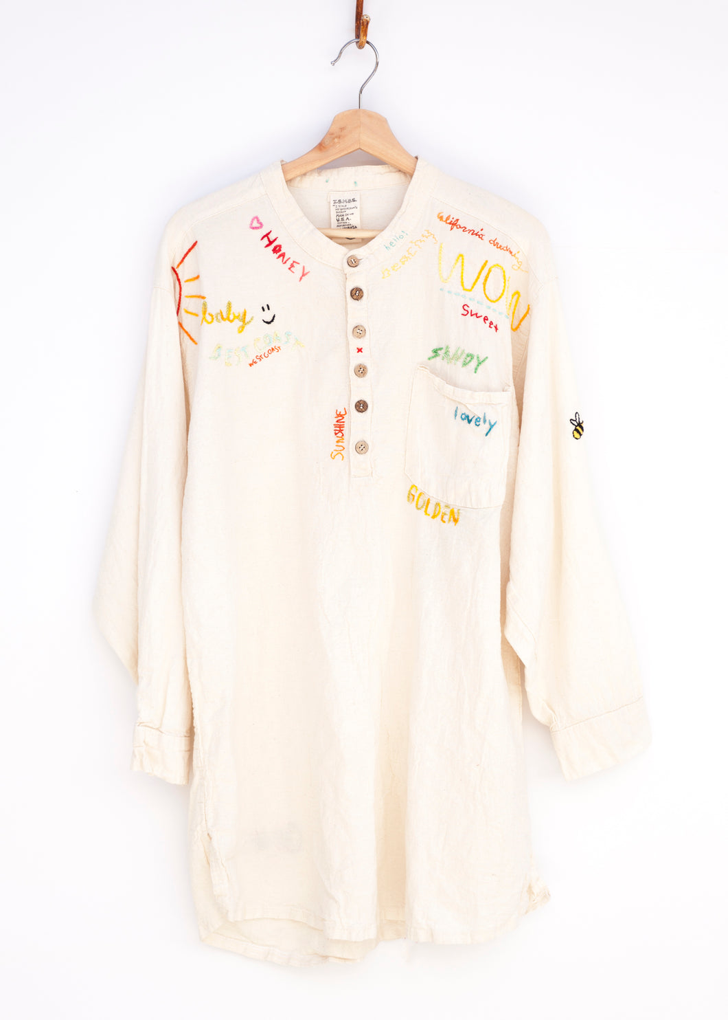 Embroidered Tunic - California Girl